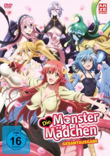 Die Monster Mädchen (Gesamtausgabe), 4 DVDs