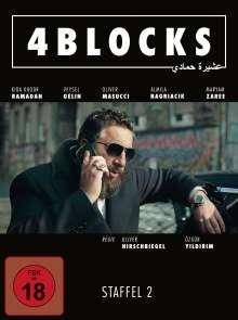4 Blocks Staffel 2, 3 DVDs