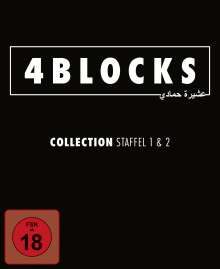 4 Blocks Staffel 1 & 2, 5 DVDs