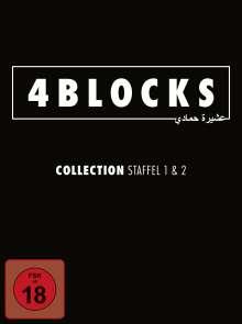 4 Blocks Staffel 1 & 2 (Blu-ray), 4 Blu-ray Discs