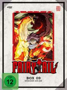 Fairy Tail Box 9, 4 DVDs