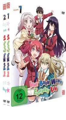 Inou Battle Within Everyday Life (Gesamtausgabe), 2 DVDs