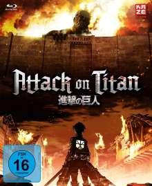 Attack on Titan Staffel 1 (Gesamtausgabe) (Blu-ray), 4 Blu-ray Discs