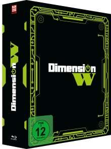 Dimension W (Gesamtausgabe) (Blu-ray), 3 Blu-ray Discs