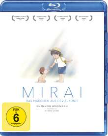 Mirai - Das Mädchen aus der Zukunft (Blu-ray), Blu-ray Disc