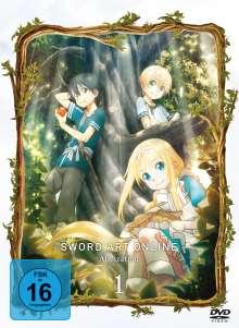 Sword Art Online 3 - Alicization Vol. 1, 2 DVDs