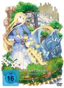 Sword Art Online 3 - Alicization Vol. 3, DVD