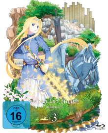 Sword Art Online 3 - Alicization Vol. 3 (Blu-ray), Blu-ray Disc