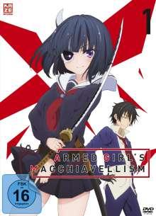 Armed Girl's Machiavellism Vol. 1, DVD