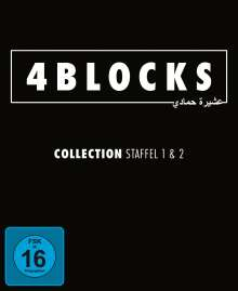 4 Blocks Staffel 1 & 2, 5 DVDs