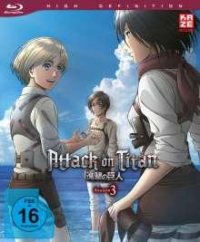 Attack on Titan Staffel 3 Vol. 4 (Blu-ray), Blu-ray Disc