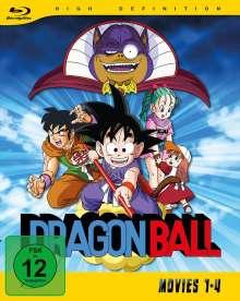 Dragonball Movies 1-4 (Gesamtausgabe) (Blu-ray), 2 Blu-ray Discs