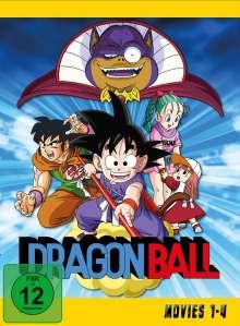 Dragonball Movies 1-4 (Gesamtausgabe), 2 DVDs