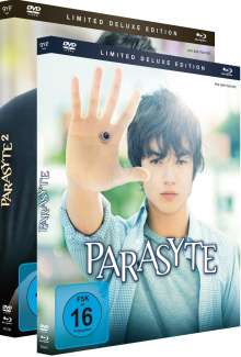 Parasyte Movie 1 & 2 (Limited Deluxe Edition) (Blu-ray & DVD), 2 Blu-ray Discs und 2 DVDs