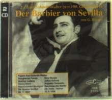 Gioacchino Rossini (1792-1868): Der Barbier von Sevilla (2x Ausz.in dt.Spr.), 2 CDs