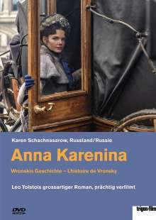 Anna Karenina - Wronskis Geschichte (OmU), DVD