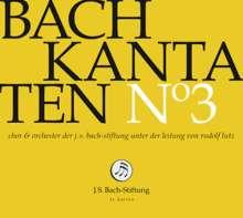 Johann Sebastian Bach (1685-1750): Bach-Kantaten-Edition der Bach-Stiftung St.Gallen - CD 3, CD