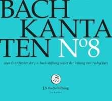 Johann Sebastian Bach (1685-1750): Bach-Kantaten-Edition der Bach-Stiftung St.Gallen - CD 8, CD