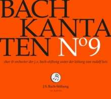 Johann Sebastian Bach (1685-1750): Bach-Kantaten-Edition der Bach-Stiftung St.Gallen - CD 9, CD