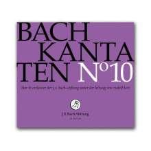 Johann Sebastian Bach (1685-1750): Bach-Kantaten-Edition der Bach-Stiftung St.Gallen - CD 10, CD