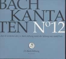 Johann Sebastian Bach (1685-1750): Bach-Kantaten-Edition der Bach-Stiftung St.Gallen - CD 12, CD