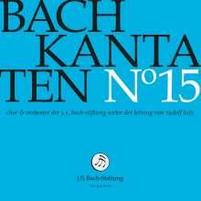 Johann Sebastian Bach (1685-1750): Bach-Kantaten-Edition der Bach-Stiftung St.Gallen - CD 15, CD