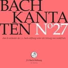 Johann Sebastian Bach (1685-1750): Bach-Kantaten-Edition der Bach-Stiftung St.Gallen - CD 27, CD