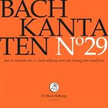 Johann Sebastian Bach (1685-1750): Bach-Kantaten-Edition der Bach-Stiftung St.Gallen - CD 29, CD