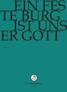 Johann Sebastian Bach (1685-1750): Bach-Kantaten-Edition der Bach-Stiftung St.Gallen - Kantate BWV 80, DVD