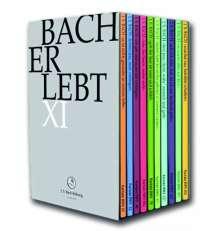 "Johann Sebastian Bach (1685-1750): Bach-Kantaten-Edition der Bach-Stiftung St.Gallen ""Bach erlebt"" - Das Bach-Jahr 2017, 11 DVDs"