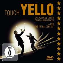 Yello: Touch Yello (Deluxe Edition) (CD + DVD), 1 CD und 1 DVD