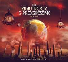 The Krautrock & Progressive Box Set (Limited Deluxe Edition), 6 CDs