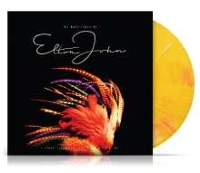 The Many Faces Of Elton John (180g) (Limited-Edition) (Yellow Marbled Vinyl), 2 LPs