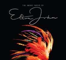 Many Faces Of Elton John, 3 CDs