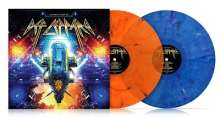 The Many Faces Of Def Leppard (180g) (Limited Edition) (Transparent Orange/Blue Marbled Vinyl), 2 LPs