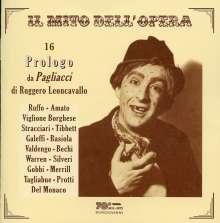 16 Prologo da Pagliacci di Ruggero Leoncavallo, CD