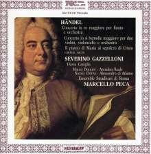 Georg Friedrich Händel (1685-1759): Flötenkonzert G-dur, CD