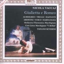 Nicola Vaccai (1790-1848): Giulietta e Romeo, 2 CDs