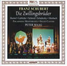 Franz Schubert (1797-1828): Die Zwillingsbrüder, CD