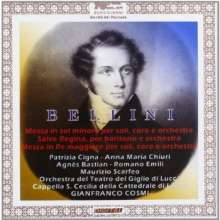 Vincenzo Bellini (1801-1835): Messen in D & g, CD