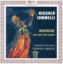 Niccolo Jommelli (1714-1774): Miserere - Pieta Signore, CD