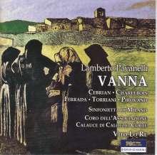 Lamberto Pavanelli (1890-1927): Vanna, CD