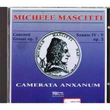 Michele Mascitti (1664-1760): Concerti grossi op.7 Nr.1-4, CD