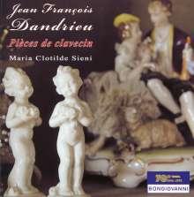 Jean Francois Dandrieu (1682-1738): Pieces de Clavecin, CD