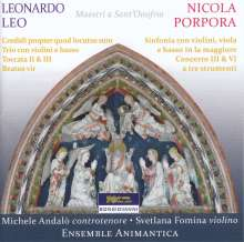 Nicola Antonio Porpora (1686-1768): Concerti III & VI, CD