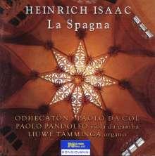 """Heinrich Isaac (1450-1517): Missa """"La Spagna"""", CD"""