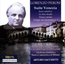 "Lorenzo Perosi (1872-1956): Orchestersuite Nr.2 ""Venezia"", CD"