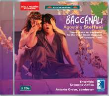 Agostino Steffani (1654-1728): Baccanali, 2 CDs