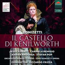 Gaetano Donizetti (1797-1848): Il Castello di Kenilworth, 2 CDs