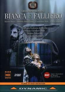 Gioacchino Rossini (1792-1868): Bianca E Falliero, 2 DVDs